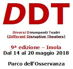 A Imola 9° edizione di DDT: Diversi Dirompenti Teatri